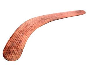 Indigenous food timeline - boomerang