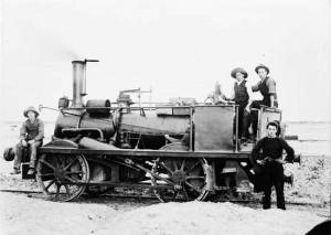 Steam locomotive, Sandridge Line