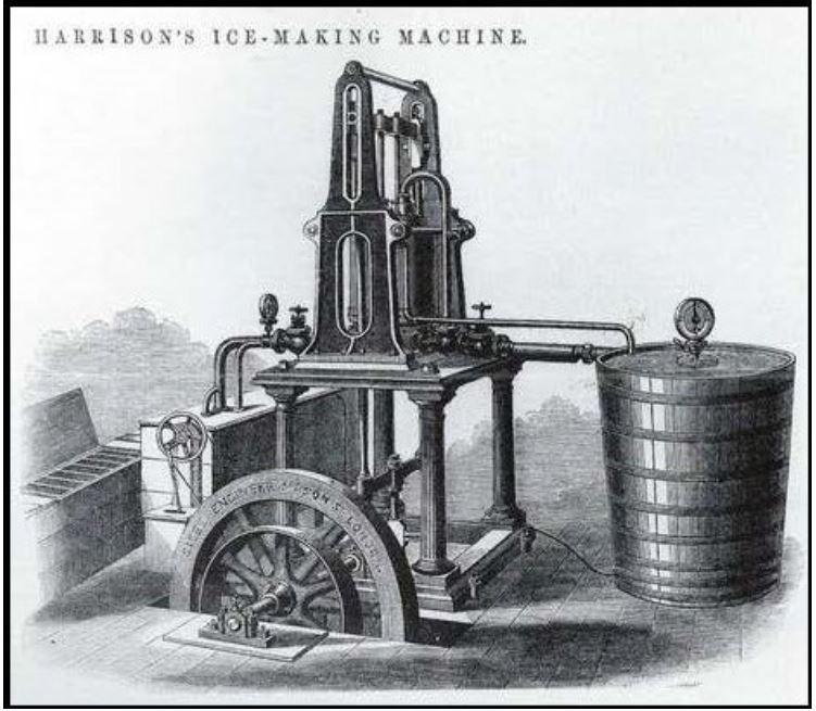 James Harrison's refrigeration system