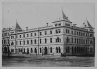 Menzies Hotel, 1870s, before the top storeys were added