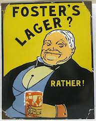 Foster's Lager poster