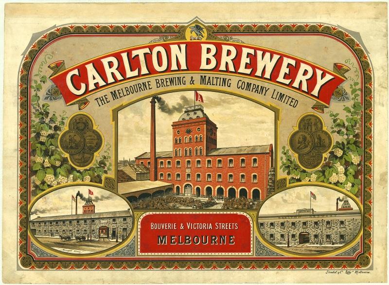 Carlton Brewery - founding partner of Carlton & United