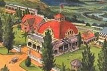Hydro Majestic hotel showing Casino dome