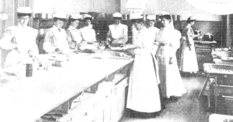 College of Domestic Economy 1907