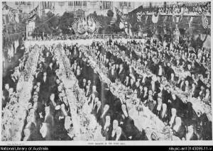 Federation banquet Sydney Town Hall