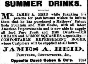 Australian milk shake ad