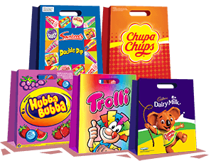 Confectionery showbags