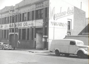 Image: City of Sydney image library -  Meadow Lea margarine factory