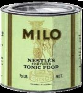 Old Milo tin