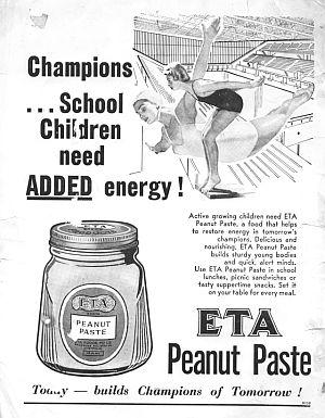 Eta Peanut Paste ad