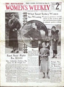 Australian Women's Weekly first edition