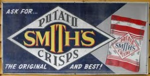 Smith's Chips sign