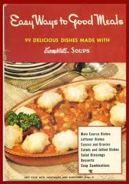 Campbell's cook book - tuna casserole recipes inside.