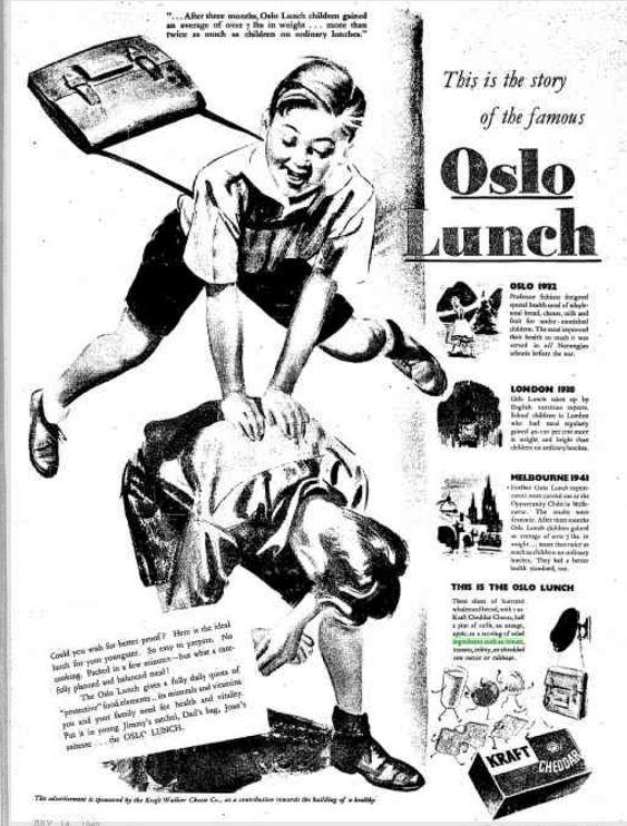 Kraft Oslo Lunch ad