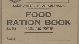 World War II ration book