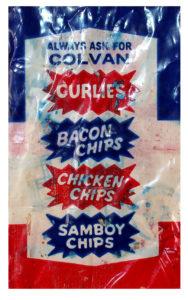 Colvan Chips - back of Potato Straws pack