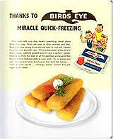 Birds Eye Fish Fingers advertising