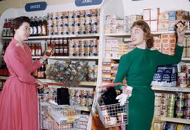 Self-service grocers 1950s