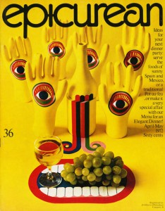 Epicurean - one of Australia's first food magazines