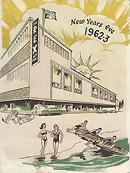 Rex Hotel New Year's Eve Menu 1962