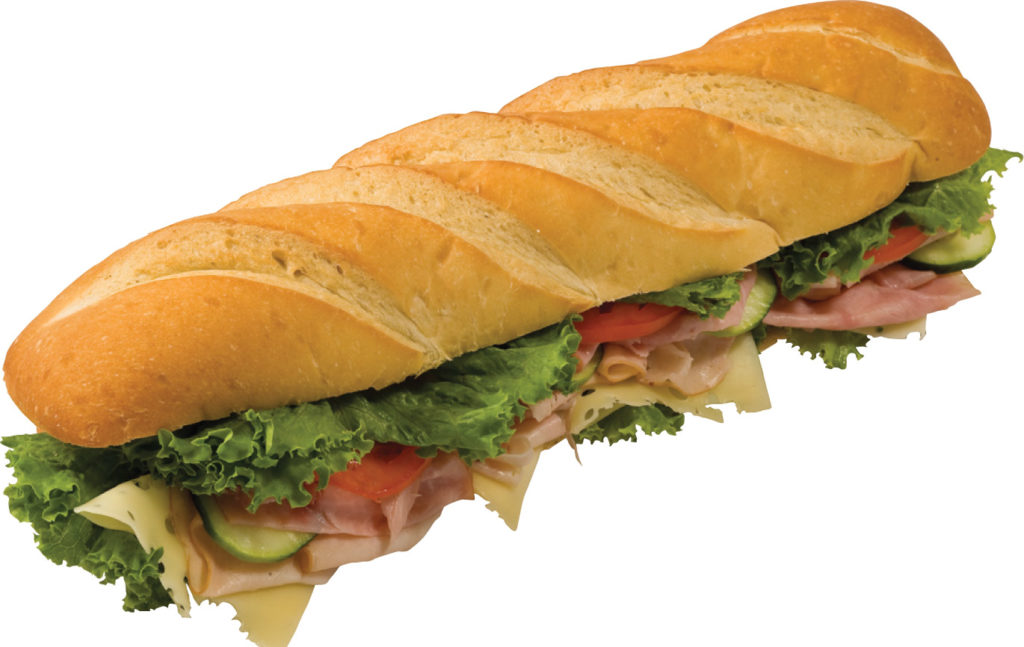 Submarine sandwich - not from Subway