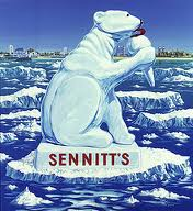 Sennitt's Ice Cream bear