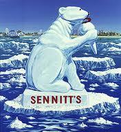 Sennitt's Ice Cream bear