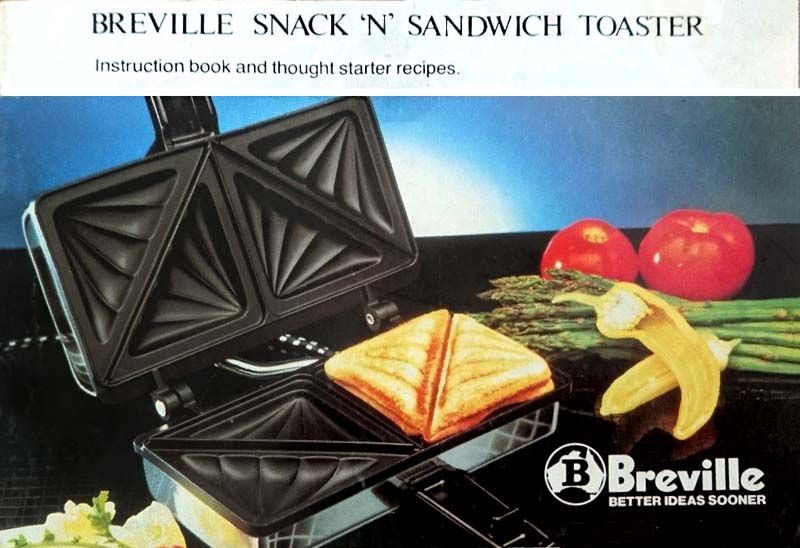Breville Snack'n'Sandwich Toaster