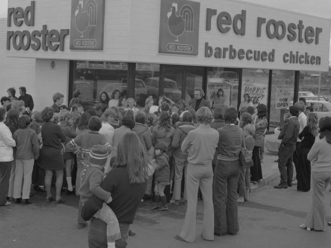 First Red Rooster store