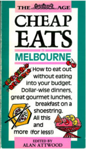 Cover of the first Cheap Eats Guide.