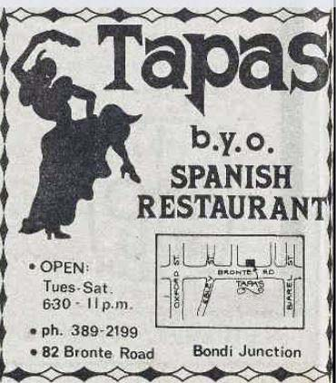 Tapas Restaurant Bondi