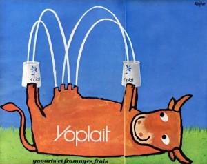 Yoplait cow