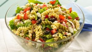 80s food trends - pasta salad on the out