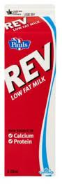 Rev low fat milk