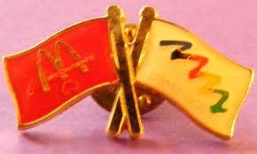 Mcdonald's Olympics pin