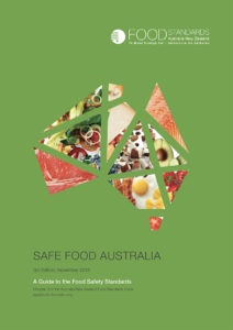 Safe Food Australia is a guide to the Food Standards Code