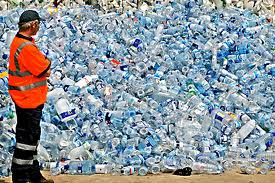 Bottled water a litter problem