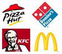 Fast food brands
