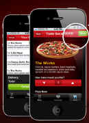 Pizza Hut's iPhone app
