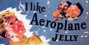 Aeroplane Jelly poster