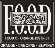 Orange F.O.O.D. Week brand
