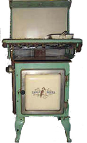 Early Kooka gas stove