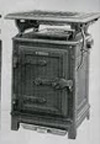 Early gas stove