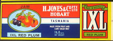 Henry Jones IXL jam label