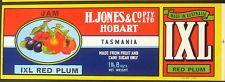 Henry Jones IXL jam label