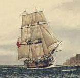 HMS Supply - 1790 food crisis