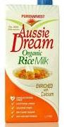 Alternative milks - rice milk