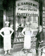 Sargents Pastry Shop in 1896