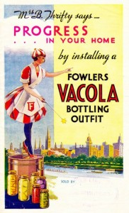 Fowlers Vacola advertisement