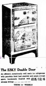 Esky ice refrigerator